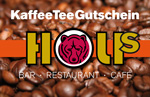 Coffee or tea voucher's for Bar - Restaurant - Cafe HOLIs